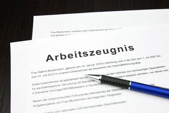 anwaltliche Überprüfung Ihres Arbeitszeugnisses zum Festpreis!