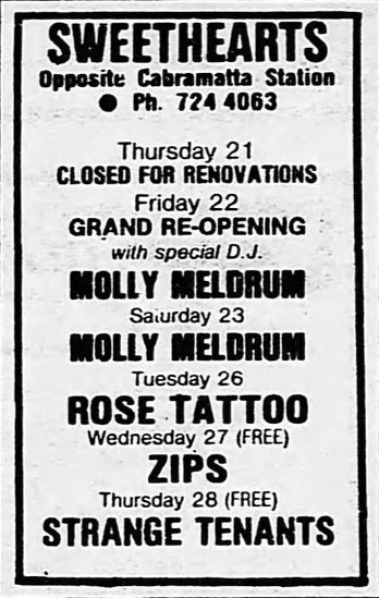 Sydney Morning Herald 22. February 1985 - AD