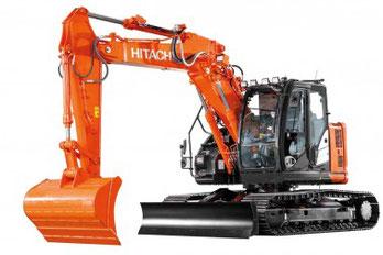 Hitachi medium excavator