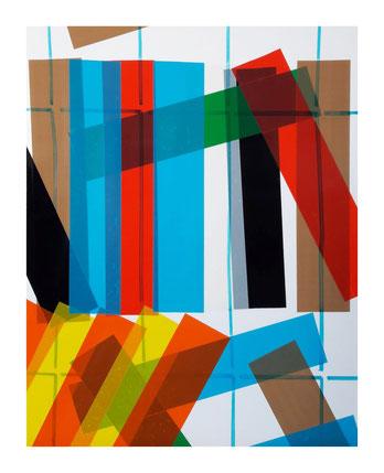 Rythme n°54, dim. 40 cm x 31,50 cm, 2019