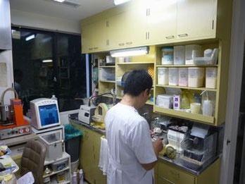 歯科技工室の様子