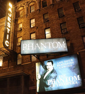 Phantom der Oper am Broadway in New York