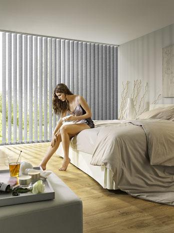 Vertikaljalousie, Vorhangfachgeschäft, Vorhänge by Ruoss, Innenbeschattung