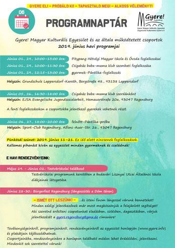 programnaptár, gyere! magyar kulturális egyesület, magyar suli és ovi Regensburg, Csigaház baba-mama foglalkozás,