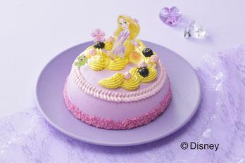 <ラプンツェル>ドレスケーキ