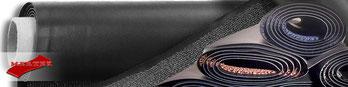 MERTEX-SHOP - Qualitaet/ Farben von Schmutzfangmeterware, OSLO, BERN, COLORADO