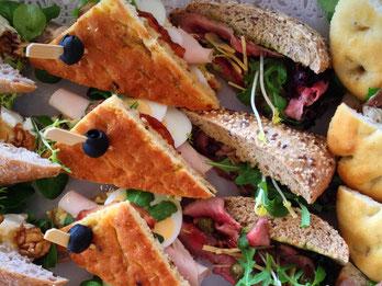 Del Italia luxe belegde broodjes