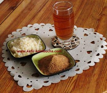 kefir de fruits au sucre coco