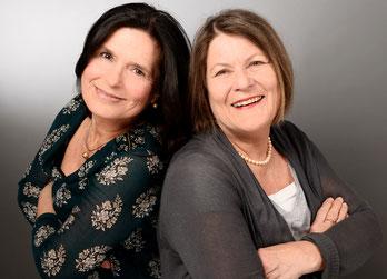 Sabine Lück und Ingrid Alexander