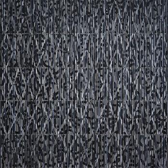 O.T., Acryl auf Leinwand, 80 x 80 cm, 2018
