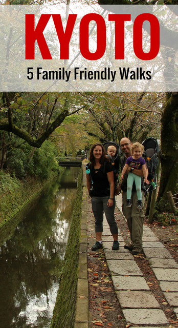 5 Family Friendly Walks in Kyoto, Japan - see more at www.babycantravel.com/blog
