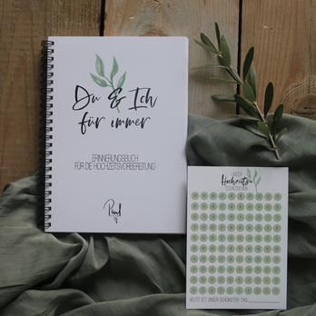 Tagebuch für die Hochzeitsvorbereitung