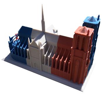 3d-druck-notre-dame-architektur-miniaturmodell