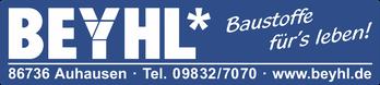 Ihr Bauunternehmen Beyhl für den Landkreis Donau-Ries.