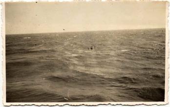 Naufrago in mare