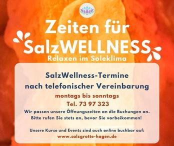 Öffnungszeiten, Events, Salzgrotte SALINUM Hagen
