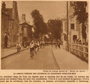 Tour de France 1925 à Dives - Coll Quenderf