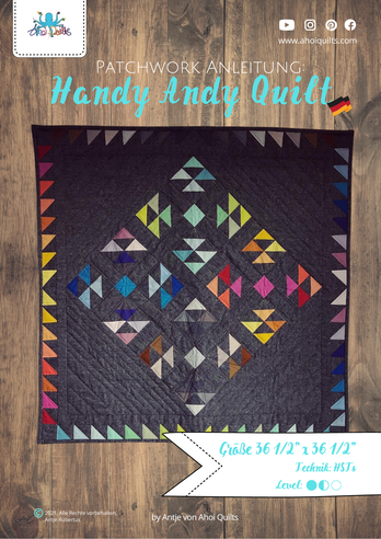 Cover Handy Andy Quilt Anleitung