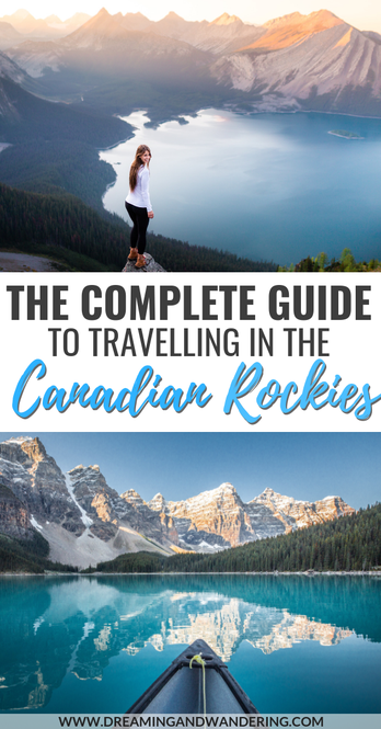 Guide to travelling in the Canadian Rockies backpacking camping budget hiking photography