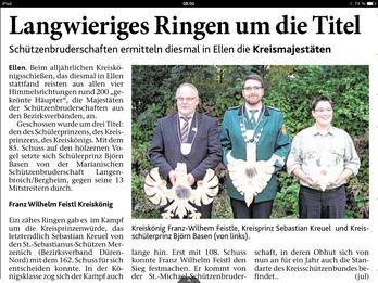 Dürener Zeitung 12.10.2014