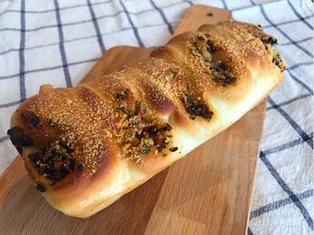 カレーちぎりパン - パンと和菓子の教室 MANA Belle World ( マナベルワールド )