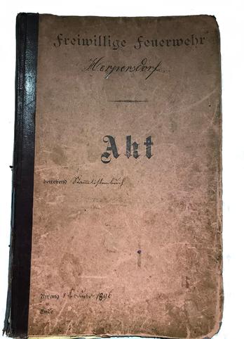 Mitgliederbuch ab 1896
