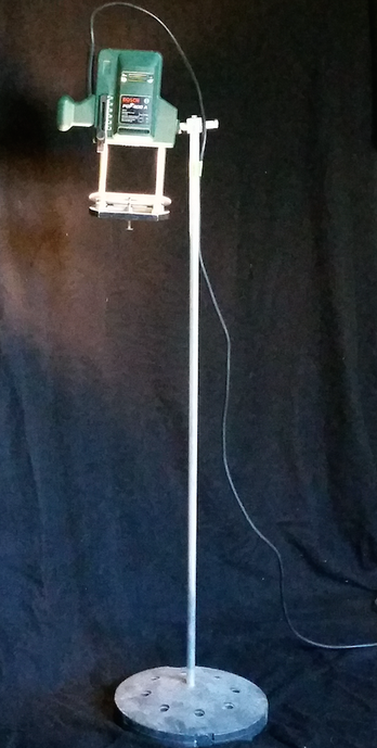 Lichtobjekt Skulptur Oberlicht Oberfräse Stehlampe upcycling david bergmann hasimir