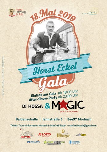 1. Horst Eckel Gala am 18.05.2019 in Morbach