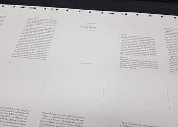 Druckbogen, edition überland