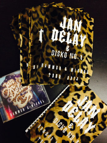 Textil Sonderanfertigung für Jan Delay