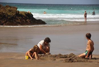 Hot Water Beach et sa source chaude