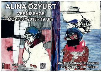 Alina Özyurt Galerie Time Vernissage Machatschek Wien Ausstellung Künstlerin