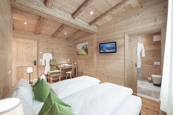 Liebevoll eingerichtete Schlafzimmer