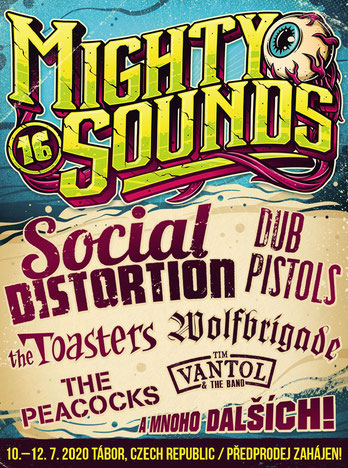Mighty Sounds Plakat 2020