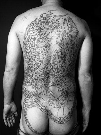 昇龍 刺青