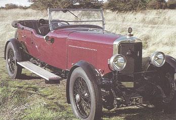 Een Sunbeam 3 Litre uit 1925.