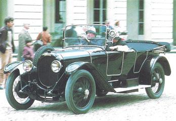 Een Chenard & Walcker TT (1913-1924).
