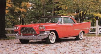 Een Chrysler 300C uit 1957.