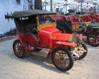 Een Le Zèbre type B uit 1914.