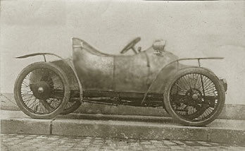 Een Viratelle  cyclecar.