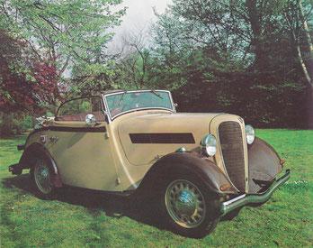 Een Rosengart LR4 uit 1939.