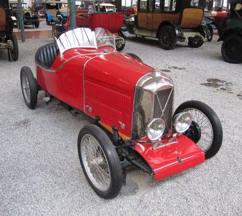 Een Salmson Grand Sport San Sebastian uit 1926.