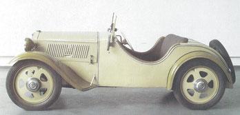 Een DKW Roadster F1 uit 1931.