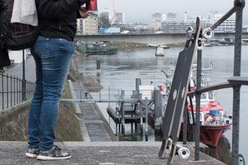 saltedlife.org Longboard Rheinradweg Frankreich