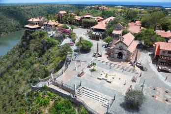 Altos de Chavon, Dominikanische Republik, Karibische Inseln, Karibik