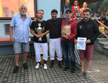Die Sieger 2019 mit Horst Koller