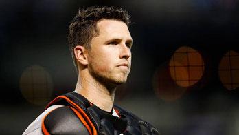 Nella foto Buster Posey giudicato il miglior catcher in MLB nel 2017(Getty Images)