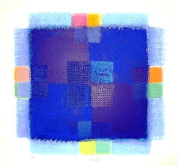 Zero-Künstler Heinz Mack - Ausstellung in der Kunsthandlung Langheinz Darmstadt 2010