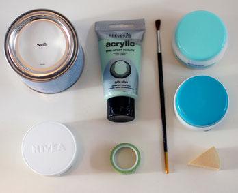 Upcycling Material Basteln Acrylfarben Urban Jungle Bloggers Alltagsabenteuer Freizeit Alltagsabenteurer