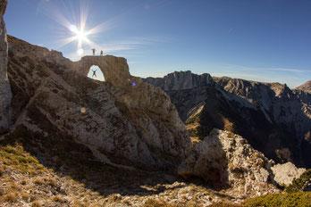 L'arche du Mont-Aiguille